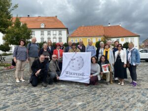Účastníci Seniorského WikiMěsta v Týně nad Vltavou